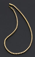 Estate Jewelry:Necklaces, 14k Gold Necklace. ...