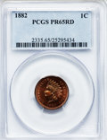 Proof Indian Cents, 1882 1C PR65 Red PCGS....