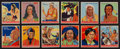 Non-Sport Cards:Lots, 1933-41 Goudey Indian Gum Collection (28). ...