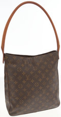 Luxury Accessories:Bags, Louis Vuitton Classic Monogram Canvas Looping GM Shoulder Bag. ...
