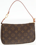 Luxury Accessories:Bags, Louis Vuitton Classic Monogram Canvas Pochette Shoulder Bag. ...