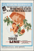 """Movie Posters:War, The Thin Red Line (Allied Artists, 1964). One Sheet (27"""" X 41"""").War.. ..."""