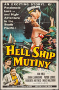 "Movie Posters:Adventure, Hell Ship Mutiny & Other Lot (Republic, 1957). One Sheets (2)(27"" X 41""). Adventure.. ... (Total: 2 Items)"