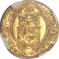 Italy, Italy: Papal States. Pius II gold Ducat ND (1458-64),...