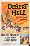 "Movie Posters:Adventure, Desert Hell & Other Lot (20th Century Fox, 1958). One Sheets(2) (27"" X 41""). Adventure.. ... (Total: 2 Items)"