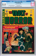 Golden Age (1938-1955):Horror, Vault of Horror #14 (EC, 1950) CGC VF 8.0 Off-white to whitepages....