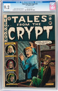 Golden Age (1938-1955):Horror, Tales From the Crypt #23 (EC, 1951) CGC NM- 9.2 Off-white to whitepages....