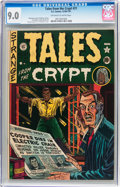 Golden Age (1938-1955):Horror, Tales From the Crypt #21 (EC, 1951) CGC VF/NM 9.0 Off-white towhite pages....