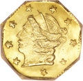 California Fractional Gold, 1871 25C Liberty Octagonal 25 Cents, BG-715, Low R.6, MS67 NGC....