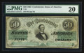 Confederate Notes:1862 Issues, T50 $50 Dec, 2, 1862 PF-6 Cr. 353.. ...
