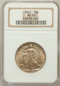 Walking Liberty Half Dollars: , 1941 50C MS63 NGC. NGC Census: (637/8315). PCGS Population(1330/11593). Mintage: 24,207,412. Numismedia Wsl. Price for pro...