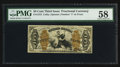 Fractional Currency:Third Issue, Fr. 1372 50¢ Third Issue Justice PMG Choice About Unc 58.. ...