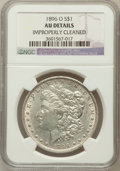 Morgan Dollars, 1896-O $1 -- Improperly Cleaned -- NGC Details. AU. NGC Census:(456/4079). PCGS Population (534/3625). Mintage: 4,900,000....