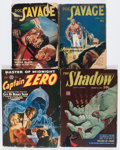 Pulps:Miscellaneous, Assorted Hero Pulps Group (Various, 1943-49).... (Total: 4 Comic Books)