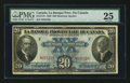 Canadian Currency: , Montreal, PQ- La Banque Provinciale Du Canada $20 Aug. 1, 1928 Ch # 615-14-18. ...