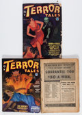 Pulps:Horror, Terror Tales Group (Popular, 1934) Condition: Average VG-....(Total: 3 Comic Books)