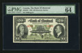 Canadian Currency: , Montreal, PQ- The Bank of Montreal $20 Jan. 3, 1938 Ch # 505-62-04....