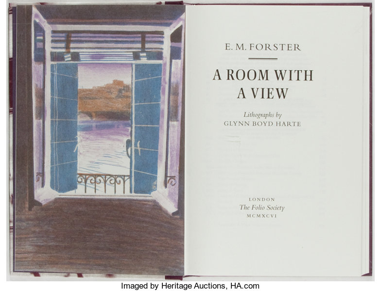 E M Forster A Room With A View The Folio Society 2007