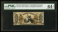 Fractional Currency:Third Issue, Fr. 1355 50¢ Third Issue Justice PMG Choice Uncirculated 64.. ...