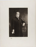 Books:Prints & Leaves, Gravure Portrait of William McKinley from: The White HouseGallery of Official Portraits of the Presidents. New York...