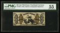 Fractional Currency:Third Issue, Fr. 1356 50¢ Third Issue Justice PMG About Uncirculated 55.. ...
