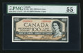 Canadian Currency: , BC-35b $100 1935. ...