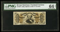 Fractional Currency:Third Issue, Fr. 1327 50¢ Third Issue Spinner PMG Choice Uncirculated 64 Net.. ...