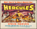 "Movie Posters:Action, Hercules (Embassy, 1959). Half Sheet (22"" X 28"") Style A. Action....."