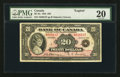 Canadian Currency: , BC-9a $20 1935 Large Seal. ...