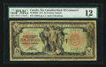Canadian Currency: , Toronto, ON- The Canadian Bank of Commerce $5 Jan. 2, 1917 Ch #75-16-04-04. ...