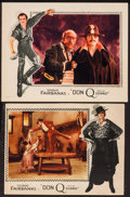 """Movie Posters:Swashbuckler, Don Q, Son of Zorro (United Artists, 1925). Lobby Cards (2) (11"""" X 14"""" and 10"""" X 13.25""""). Swashbuckler.. ... (Total: 2 Items)"""