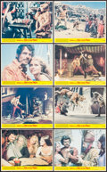 """Movie Posters:Fantasy, Sinbad and the Eye of the Tiger (Columbia, 1977). Mini Lobby CardSet of 8 (8"""" X 10""""). Fantasy.. ... (Total: 8 Items)"""