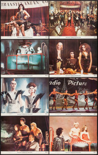 "The Rocky Horror Picture Show (20th Century Fox, 1975). Lobby Card Set of 8 (11"" X 14""). Rock and Roll. ... (T..."