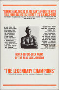 """Movie Posters:Sports, The Legendary Champions (Big Fights, 1968). One Sheet (27"""" X 41""""). Sports.. ..."""