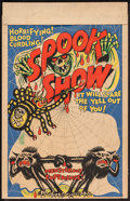 "Movie Posters:Horror, Spook Show (1950s). Window Card (14"" X 22""). Horror.. ..."