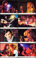 "Movie Posters:Rock and Roll, Fillmore (20th Century Fox, 1972). Mini Lobby Card Set of 8 (8"" X10""). Rock and Roll.. ... (Total: 8 Items)"