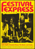 "Movie Posters:Rock and Roll, Festival Express (HanWay, 2005). Japanese B2 (20"" X 28.5""). Rockand Roll.. ..."