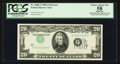 Error Notes:Inverted Third Printings, Fr. 2060-J $20 1950A Federal Reserve Note. PCGS Apparent ChoiceAbout New 58.. ...