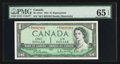 Canadian Currency: , BC-37bA PMG $1 1954 Replacement Note. ...