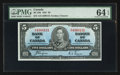 Canadian Currency: , BC-23c $5 1937. ...
