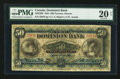 Canadian Currency: , Toronto, ON- The Dominion Bank $50 Jan. 2, 1925 Ch # 220-22-08. ...