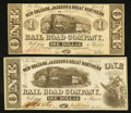 Obsoletes By State:Louisiana, New Orleans, LA- New Orleans, Jackson & Great Northern Rail Road Company $1 Nov. 16, 1861 Two Examples. ... (Total: 2 notes)