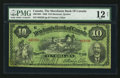 Canadian Currency: , Montreal, PQ- The Merchants Bank of Canada $10 Feb. 1, 1906 Ch # 460-16-04. ...
