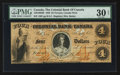 Canadian Currency: , Toronto, CW - The Colonial Bank of Canada $4 June 4, 1859 Ch. #130-10-02-08. ...