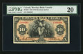 Canadian Currency: , Montreal, PQ- Barclays Bank (Canada) $10 Jan. 2, 1935 Ch #30-12-06. ...