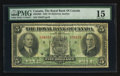 Canadian Currency: , Montreal, PQ - The Royal Bank of Canada $5 July. 3, 1933 Ch. # 630-16-02. ...