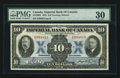 Canadian Currency: , Toronto, ON- Imperial Bank of Canada $10 Nov. 1, 1933 Ch #375-20-04. ...