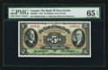 Canadian Currency: , Halifax, NS- The Bank of Nova Scotia $5 Jan. 2, 1935 Ch #550-36-02. ...