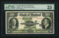 Canadian Currency: , Montreal, PQ- The Bank of Montreal $50 Jan. 2, 1931 Ch # 505-58-08....