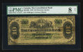 Canadian Currency: , Montreal, PQ - The Consolidated Bank $10 July 1, 1876 Ch. #205-10-06. ...